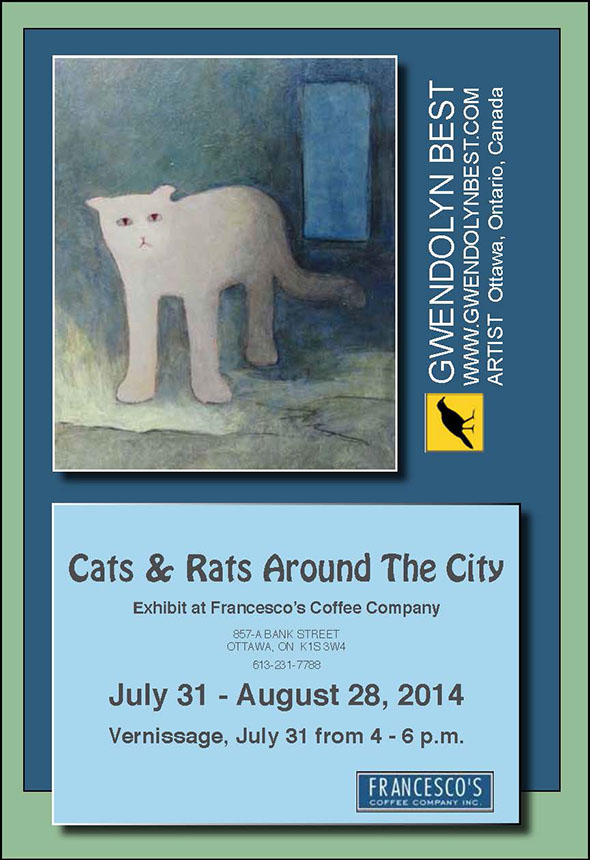 cats and rats around the city